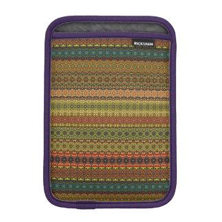 Vintage tribal aztec pattern iPad mini sleeve