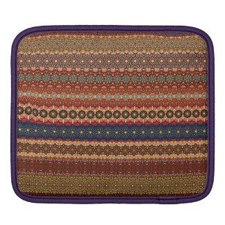Vintage tribal aztec pattern iPad sleeve