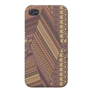 Vintage tribal aztec pattern iPhone 4/4S case