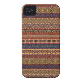 Vintage tribal aztec pattern iPhone 4 Case-Mate case