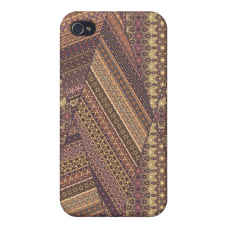Vintage tribal aztec pattern iPhone 4 cover