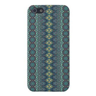 Vintage tribal aztec pattern iPhone 5 case