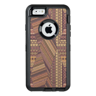 Vintage tribal aztec pattern OtterBox defender iPhone case