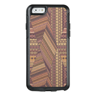 Vintage tribal aztec pattern OtterBox iPhone 6/6s case