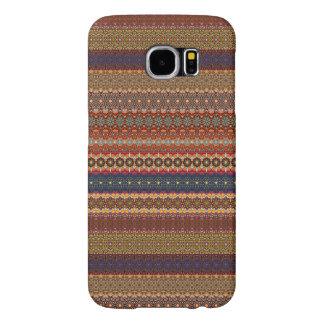 Vintage tribal aztec pattern samsung galaxy s6 cases