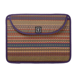 Vintage tribal aztec pattern sleeve for MacBook pro