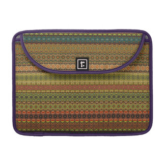 Vintage tribal aztec pattern sleeve for MacBooks