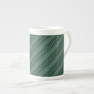 Vintage tribal aztec pattern tea cup