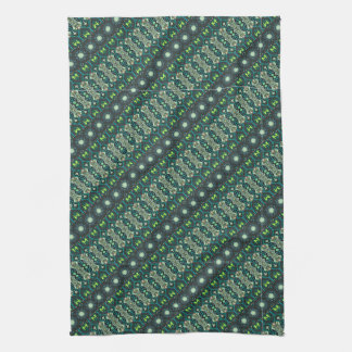 Vintage tribal aztec pattern tea towel