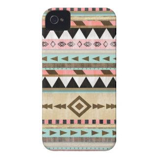 Vintage Tribal Pattern iPhone 4 Cases