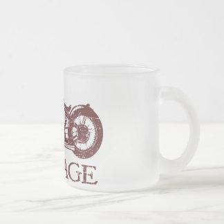 Vintage Triumph Frosted Glass Mug