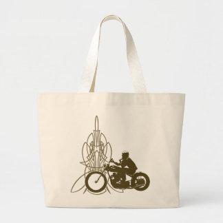 Vintage Triumph Riding Tote Bags