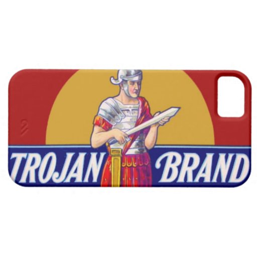 Vintage Trojan Brand Bachelor Party Gag Gift iPhone 5 Covers