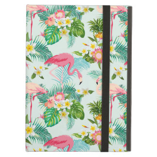 Vintage Tropical Flowers And Birds iPad Air Cases