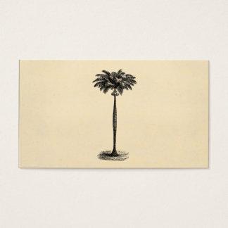 Vintage Tropical Island Palm TreeTemplate Blank