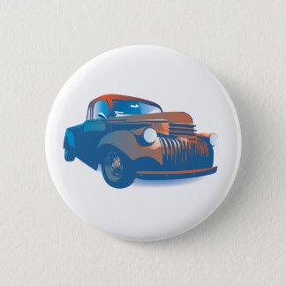 Vintage truck 6 cm round badge