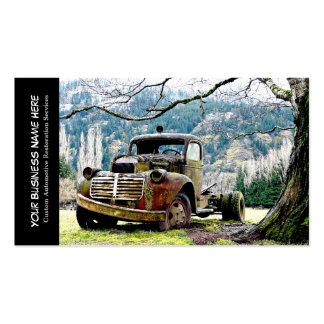 Vintage Truck Automotive Restoration Services Pack Of Standard Business Cards
