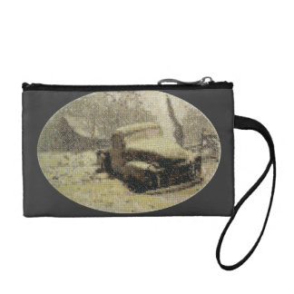 Vintage Truck Coin Wallets