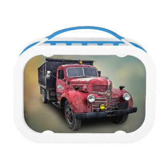 VINTAGE TRUCK LUNCH BOX