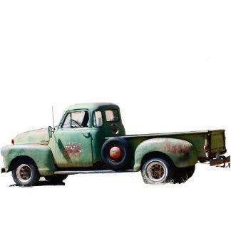 Vintage Truck Standing Photo Sculpture
