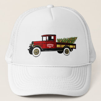Vintage Truck Your Christmas Tree Farm Trucker Hat