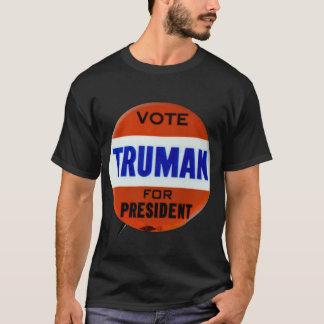 Vintage Truman Campaign Button Vote for Truman T-Shirt