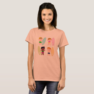 Vintage tshirt with Surf Kids