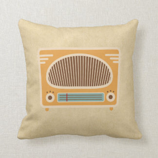 Vintage Tube Radio Collector Cushions