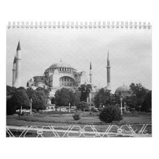 Vintage Turkey istanbul 1970 Calendar
