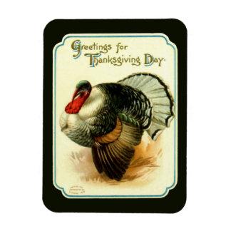 Vintage Turkey Premium Flexi Magnet