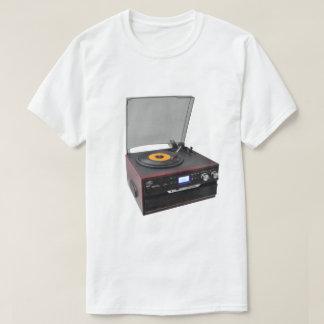 VINTAGE TURNTABLE 45 RPM TEE SHIRT