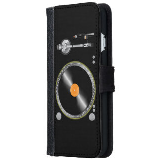 Vintage Turntable iPhone 6 Wallet Case