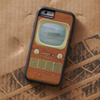 Vintage Tv Television Tough Xtreme iPhone 6 Case