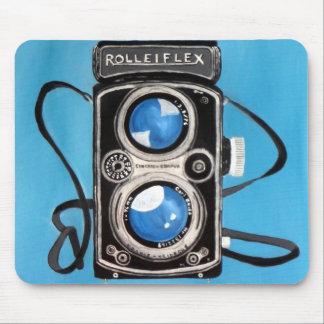 Vintage Twin Lens Camera Mousepad