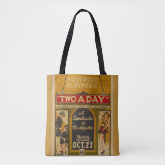 "Vintage ""Two a Day"" Tote"