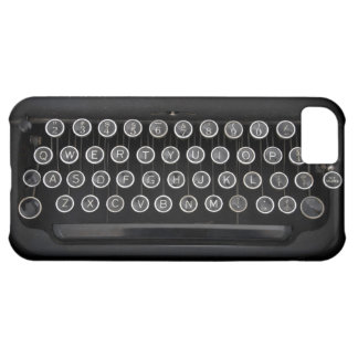 Vintage Typewriter iPhone 5C Case
