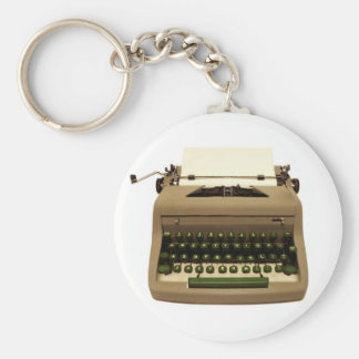 Vintage Typewriter Key Chain