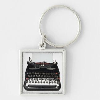 Vintage Typewriter Key Ring