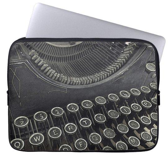 Vintage Typewriter laptop sleeve