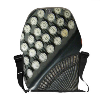 Vintage Typewriter  Messenger Bag