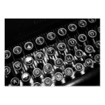 Vintage Typewriter Pack Of Chubby Business Cards
