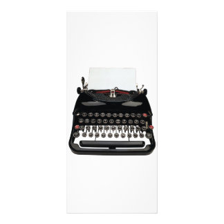 Vintage Typewriter Rack Card