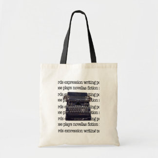 Vintage Typewriter Tote Bag