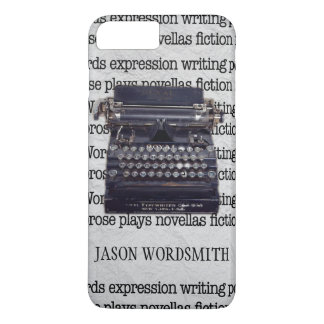 Vintage Typewriter with Typed Words iPhone 8 Plus/7 Plus Case