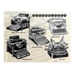 Vintage Typewriters - Illustrations