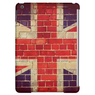 Vintage UK flag on a brick wall Case For iPad Air