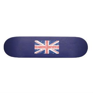 Vintage UK Flag Skateboard