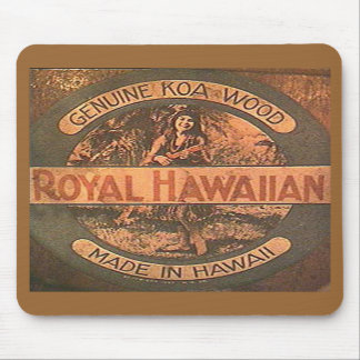 Vintage Ukulele Label Mousepad