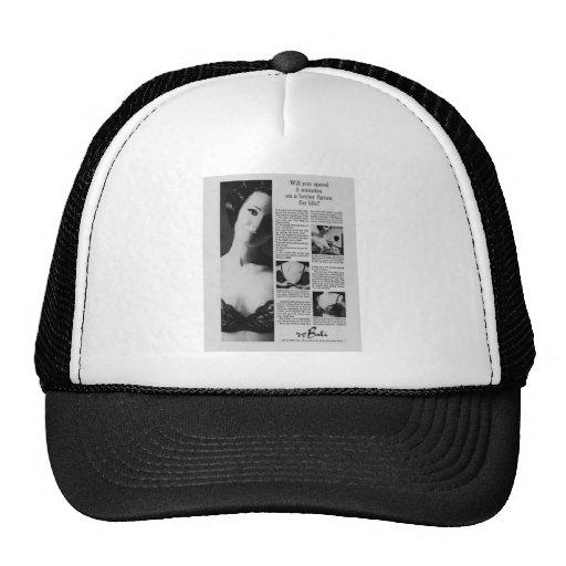 Vintage underwear advertisements mesh hats