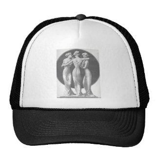 Vintage underwear advertisements mesh hat